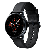 Samsung Galaxy Watch Active2 rustfritt stål 40mm, svart
