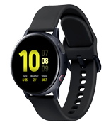 Samsung Galaxy Watch Active 2 aluminium 40mm, svart