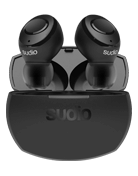 Sudio Tolv R True wireless, svart