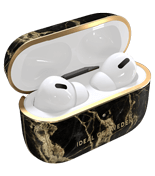 iDeal Airpods Pro etui, Golden Smoke Marb