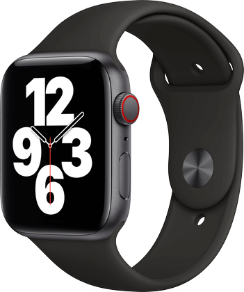 Apple Watch SE aluminium stellargrå 44mm