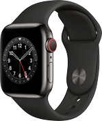 Apple Watch 6 rustfritt stål grafitt 40mm
