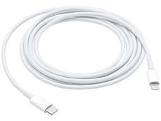 Apple USB-C-til-Lightning-kabel (2 m)