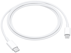 Apple USB-C-til-Lightning-kabel (1 m)