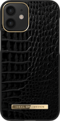 iDeal Atelier deksel iPhone 12 Mini, Noir Croco