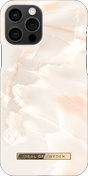 iDeal deksel iPhone 12/12 Pro, Rose Pearl Marble