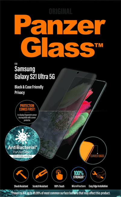 PanzerGlass Privacy Galaxy S21 Ultra