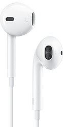 Apple EarPods med Lightning, hvit